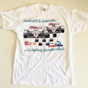 Andretti & Mansell Kmart Indy Racing T-Shirt